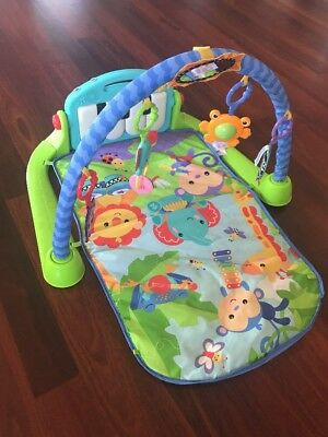 Fisher Price Kick And Play Piano Musical Gym Mat Baby