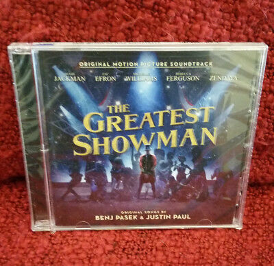 *Brand New* Sealed The Greatest Showman [Original Motion Picture Soundtrack] CD