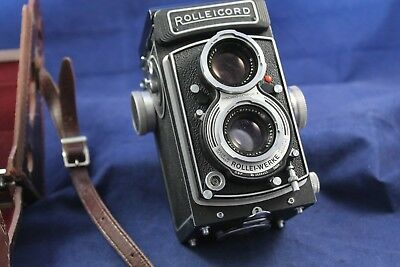 Rolleicord Vb  TLR Camera #2666423 Early 1960's W/Original Case