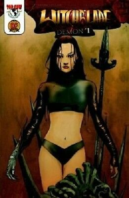 Witchblade Demon #1A Dynamic Forces Exclusive /5000 Top Cow NM With COA