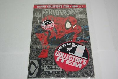 1990 Spider-Man Torment Part 1 Silver Edition  Marvel #1 Retail Bagged Mcfarlane