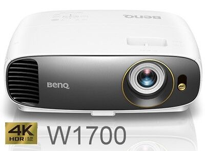 BenQ W1700 True 4K UHD HDR HD 3D Home Cinema Projector EX DEMO (7.5 Hours use)
