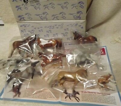 Breyer 10pc Stablemate Set #410528 2011 Parade of Breeds JCPenney SR NEW in box