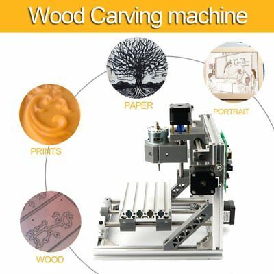3-Axis CNC Router Engraver Engraving Machine DIY Carving Cutter Cutting OK