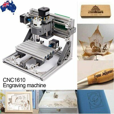 Mini 3 Axis CNC Router Engraver PCB PVC Milling Wood Carving Engraving Machine O