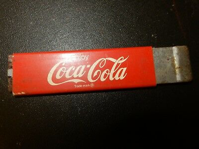 VINTAGE coke coca cola red BOX CUTTER ADVERTISING