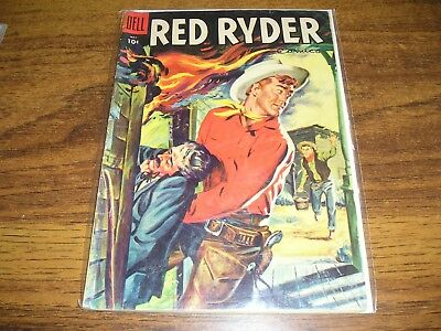 Red Ryder #142 Dell 1955 Western
