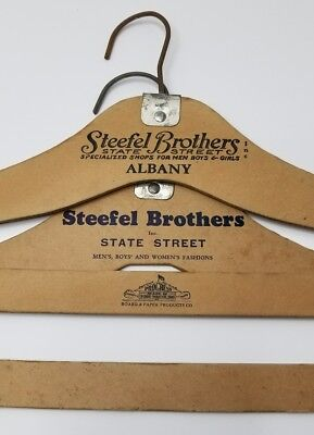 Steefel Brothers Albany Hangers  Board & Paper Products Fort Wayne In., Lot Of 2