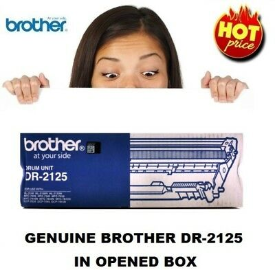 Genuine Brother DR-2125 Drum Unit In Open Box