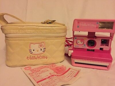 ♡Gorgeous♡ Hello Kitty Polaroid Pink Color Instant Camera 600 Series