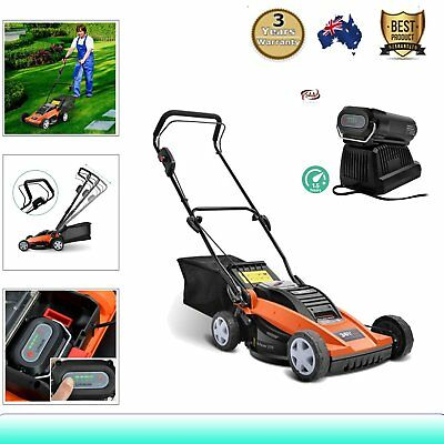 900W 36V Lawn Mower Cordless Lawnmower Lithium Battery Powered Electric Garden