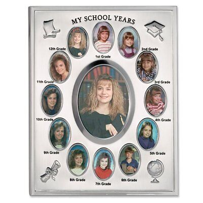 SCHOOL YEARS Picture Frame   Personalized with any Name   Black ...