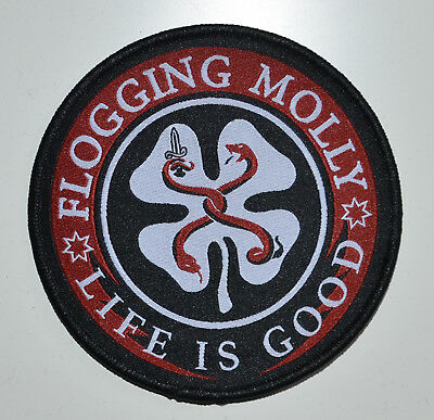 FLOGGING MOLLY - Life Is Good - 9,3 cm - Patch - 164850