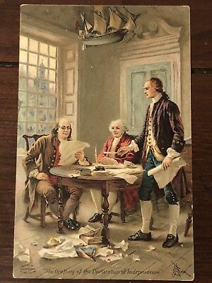Victorian Trade Card-Dr. D. Jayne's Expectorant Etc. Declaration Of Independence