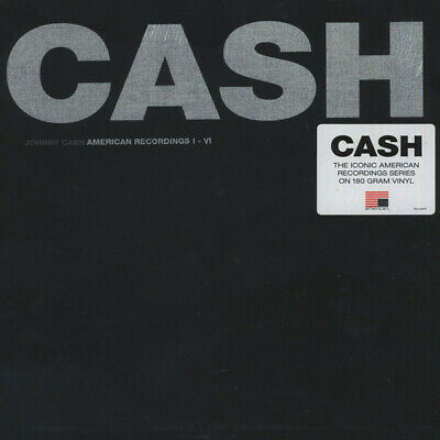 Johnny Cash American Recordings I - VI 180gm vinyl 7 LP box set NEW/SEALED