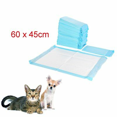 50-200 PCS LARGE PUPPY TRAINER TRAINING PADS TOILET PEE WEE MATS DOG CAT 60x45CM