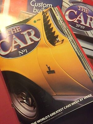 The Car Magazine. Complete Collection And Bound.