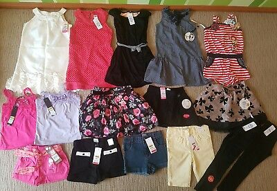 Girls bulk lot- sista, milkshake, kids stuff & target. Sz5. All New! Rrp $270!
