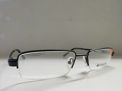 1ee0d390b6 Genuine Mens Gents Columbia Park City Black Eyeglasses Glasses Frames 678J