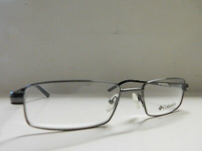 5137e663394 Genuine Mens Gents Columbia Park City Black Eyeglasses Glasses Frames 682J