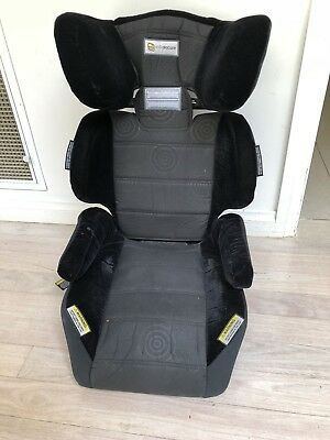Booster Seat with Cupholders and Protection Mat. InfaSecure Vario Caprice