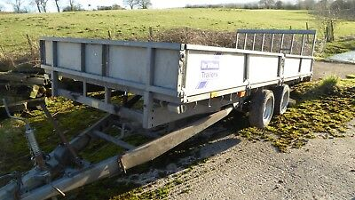 Ifor Williams CT166 Tilt Bed Trailer Tipping Tiltbed Car Recovery Transporter 16