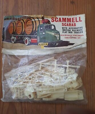 Airfix Scammell scareb construction kit. OO/HO scale sealed packet