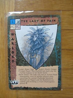 BLOODWARS I - complete Set 334 cards - 34 Chase UR LADY OF PAIN - Blood Wars ccg