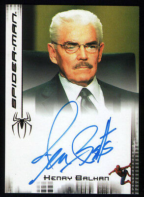 SPIDER-MAN SIGNIERT SIGNED TRADINGCARD Henry Balkan Jack Betts MARVEL Homecoming
