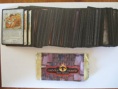 MECCG Dark Minions C/UC - Set - Alle 130 Karten lotr MEDM Middle Earth Herr Ring