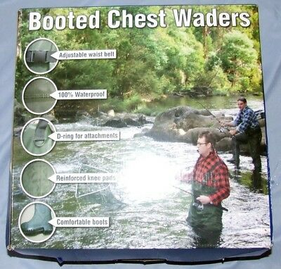 Booted Chest Waders by Aussie Disposals,Adventure series