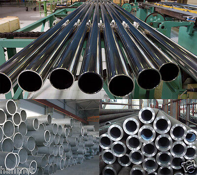 Stainless Steel 304 Round Tube Ø 4 - 808mm Wall 1 - 30mm All Ø&Length Metalwork