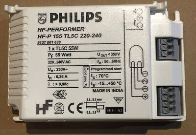 Phillips Fluorescent HF - Performer Electronic Ballast TL5C 55w (B20)