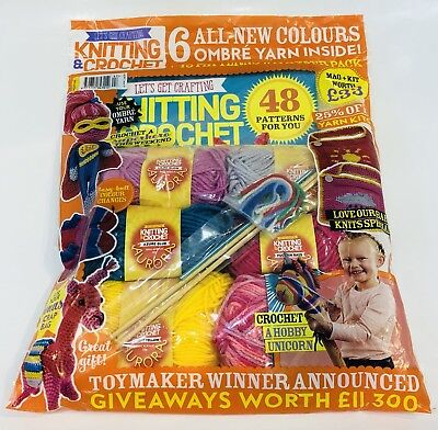 Lets Get Crafting Knitting & Crochet #97 (Brand New Sealed Pack)