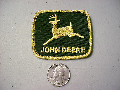 Lot Of 50 New Unused Vintage John Deere  Patch Patches Gold  Black Old School