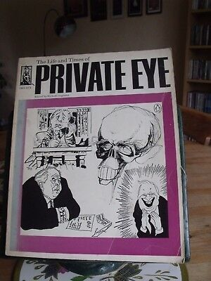 Private Eye 1961-1971 The Life And Times Edited By Richard Ingrams. Free P+P