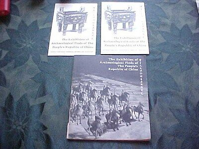 Exhibition Archaeological Finds of People's Republic of China Vintage Chinese