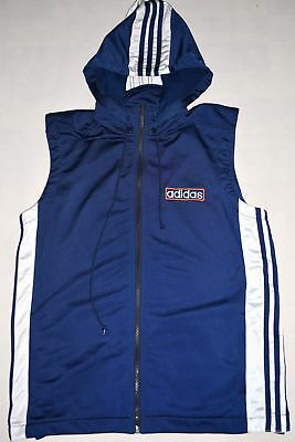 Adidas Trainings Jacke Weste Adibreak Sport Track Top Vest 90er Vintage 90s S