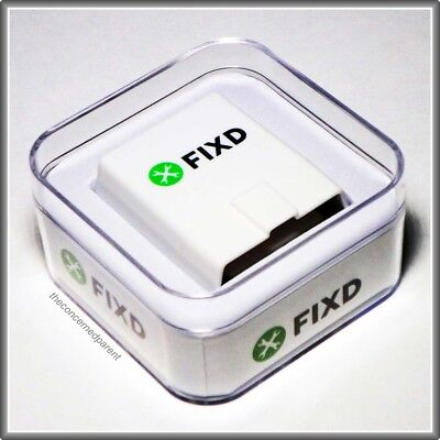 FIXD OBD-II ACTIVE CAR HEALTH MONITOR - 2nd GENERATION - FAST SHIPPING