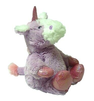 LIMITED EDITION Warmies Cozy Plush Sparkly Lilac Unicorn Lavender Heatable Toy