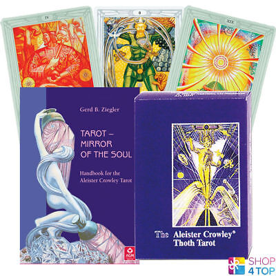 Tarot Mirror Of The Soul Set Aleister Crowley Thoth Deck Cards Book Telling Agm