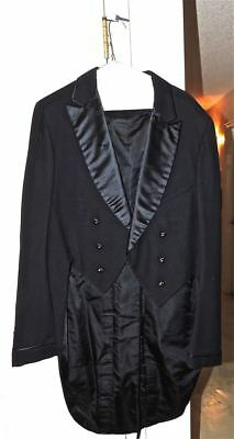 Vintage 1920's Tuxedo Tux Jacket TAILS May Co Denver A B Kirschbaum COSTUME?