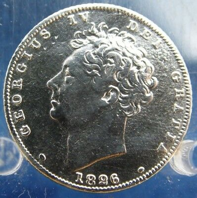 1826 Silver Sixpence