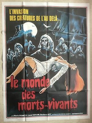 Affiche 120x160 : Le Monde des Morts Vivants (EO 1974) The Ghost Galleon