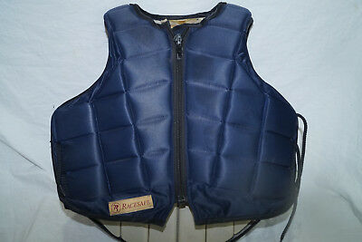 Race Safe Rs2009 Equestrian Safety Jacket Body Protector & Side Laces  Child Med