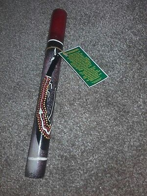 A Decorated Didgeridoo
