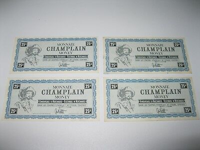 Champlain oil money ( similar to Canadian Tire ) Rare & Deleted !
