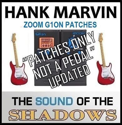 BOSS RE-20 PEDAL ART D'ECHO Sound of HANK MARVIN (settings only) 60s sound