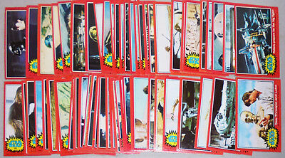 1977 -Star Wars- Vintage Topps Series 2 Complete Sci-Fi/Movie Trading Card Set