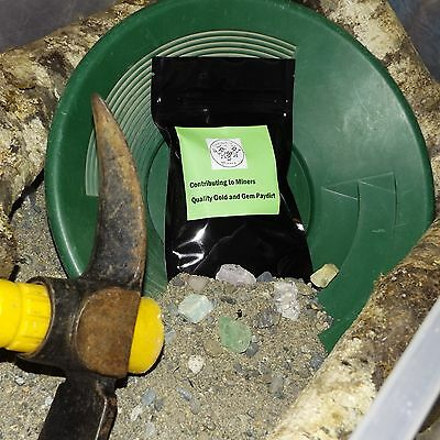 4oz Contributing to Miners GOLD &GEM  paydirt Guaranteed GOLD! BUY 2 GET 1 FREE!